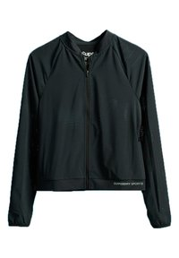 Superdry - SUPERDRY TRAINING LIGHTWEIGHT JACKET - Training jacket - black - 0