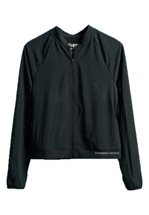 SUPERDRY TRAINING LIGHTWEIGHT JACKET - Træningsjakker - black