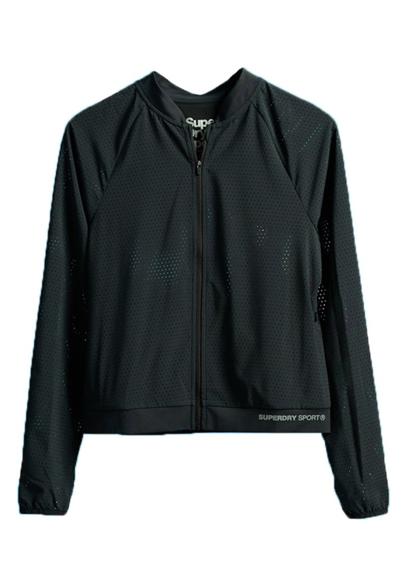 Superdry - SUPERDRY TRAINING LIGHTWEIGHT JACKET - Training jacket - black