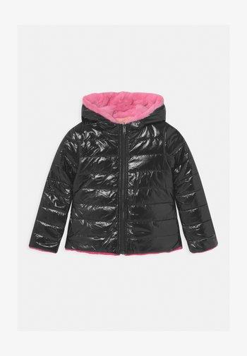 REVERSIBLE HOODED - Winter jacket - schwarz