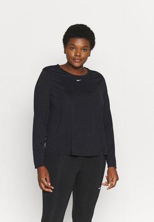 ONE PLUS - Sportshirt - black/white