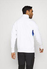 Columbia - BUGA QUARTER ZIP - Sweatshirt - white/lapis blue - 2