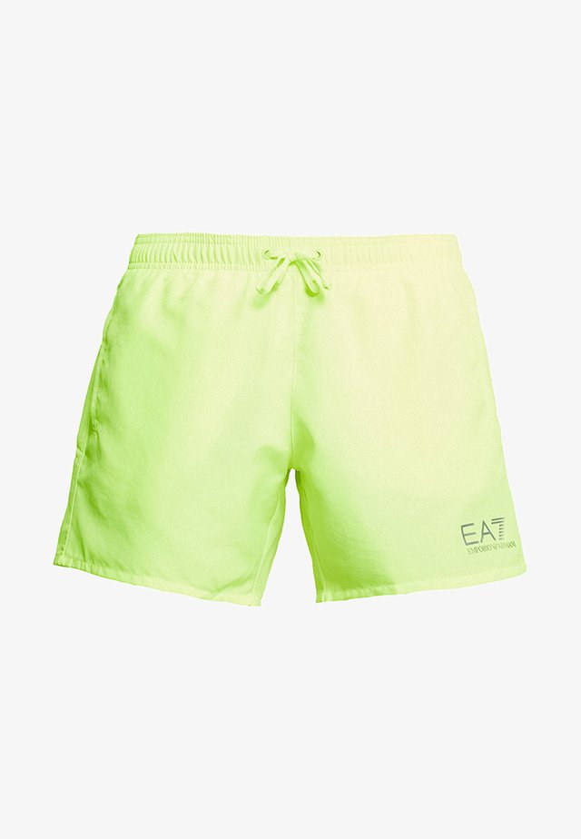SEA WORLD CORE - Zwemshorts - giallo fluo