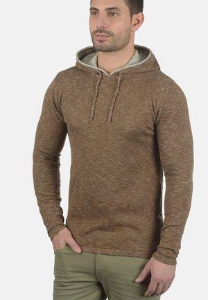 MURRAY - Mikina skapucí - teak brown