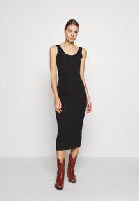 Modström - TULLA LONG - Jersey dress - black - 0