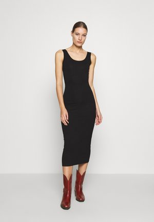 TULLA LONG - Jersey dress - black