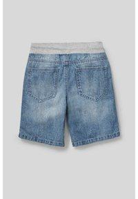 C&A - Denim shorts - denim blue - 1