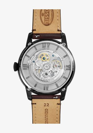 Watch - dark brown