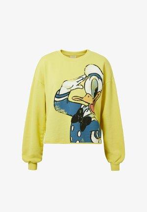 ILLUSTRATION FRAYED - Sweater - yellow