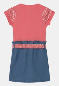 Lemon Beret - SMALL GIRLS  - Jersey dress - tea rose - 1