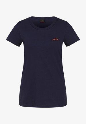 SABINA - Basic T-shirt - navy-blau