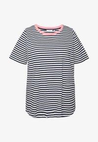 YARN DYE STRIPES T SHIRT - Print T-shirt - navy stripe