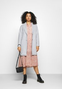 ONLY - ONLCARRIE BONDED - Classic coat - light grey - 1