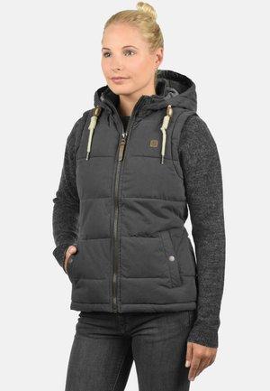 LEW - Waistcoat - dark grey