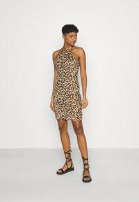 Vila - VIBE SINGLET DRESS 2 PACK - Jersey dress - black/black - 0