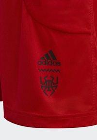 adidas Performance - D.O.N. ISSUE #2 SHORTS - Urheilushortsit - red - 4