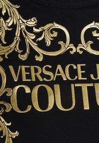 Versace Jeans Couture - T-shirt z nadrukiem - black - 2