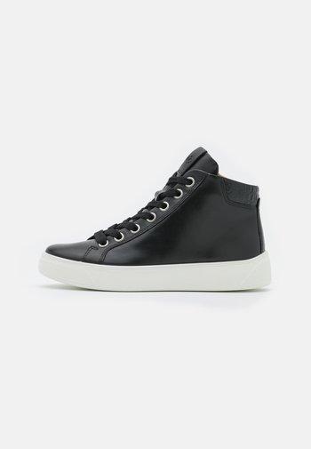 STREET TRAY  - Vysoké tenisky - black