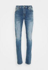 SMARTY - Straight leg jeans - alfa andamaged wash