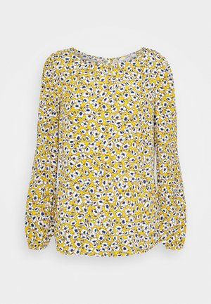 CREPE - Blouse - brass yellow