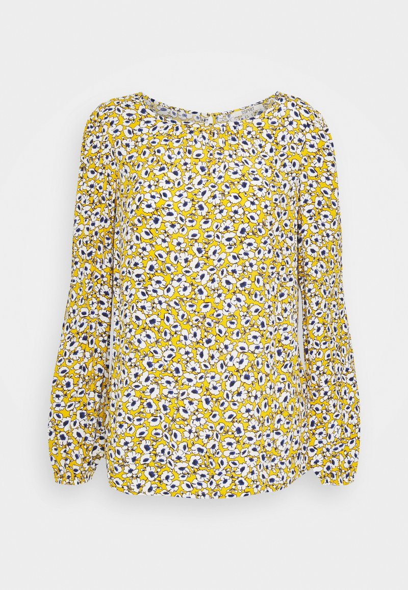Esprit - CREPE - Blouse - brass yellow