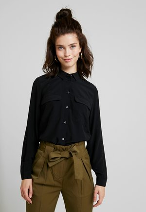 VITHOMA  - Button-down blouse - black