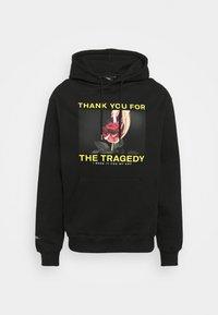 HOODIE TRAGEDY UNISEX - Sweatshirt - black