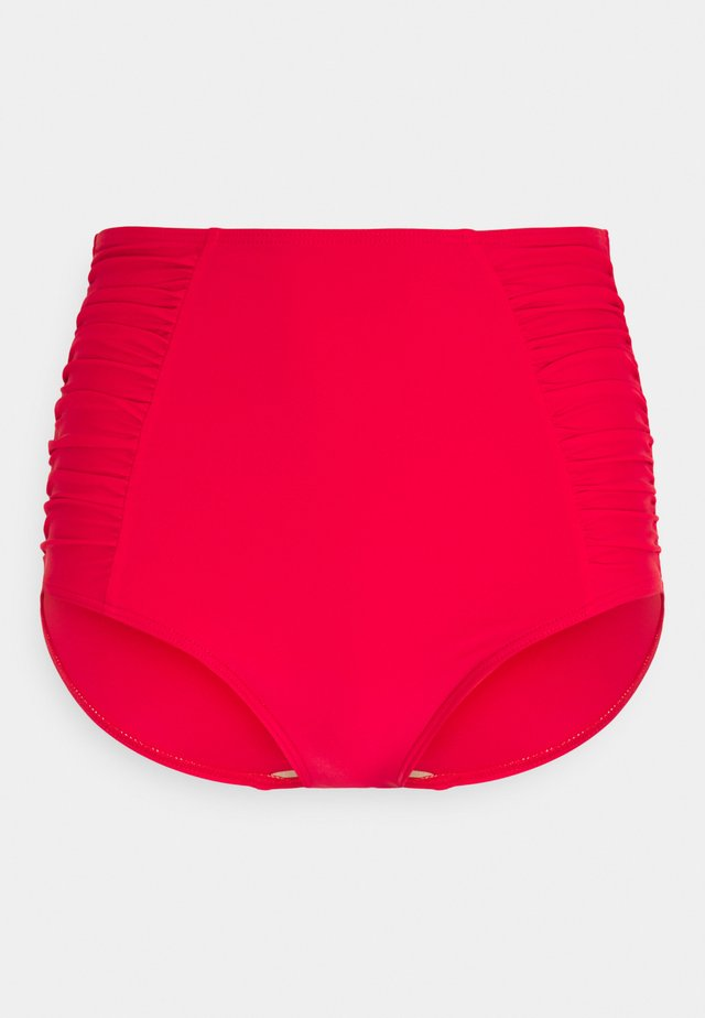 HORIZON SUPER HIGH WAIST BRIEF - Bikinibroekje - red