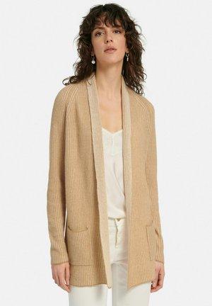 Vest - camel-creme