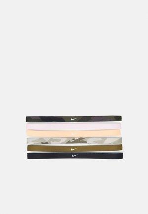 PRINTED HEADBANDS 6 PACK - Accessoires Sonstiges - black/foam pink/orange chalk