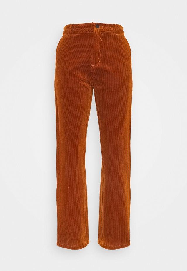 PIERCE PANT - Kalhoty - brandy