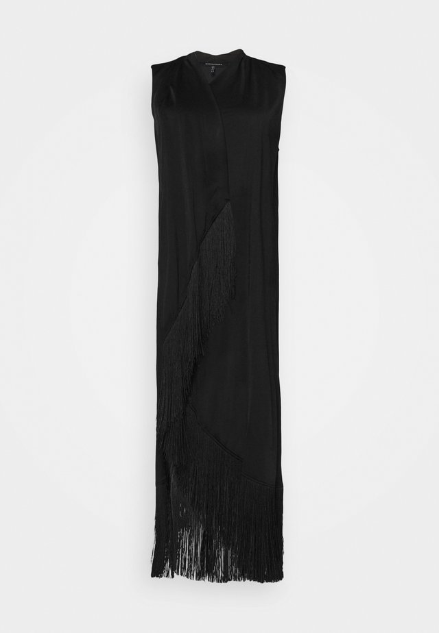 ASYMMETRIC DRESS - Cocktailjurk - black