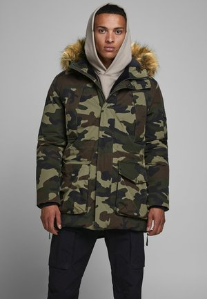 JJASHER  - Parka - olive night