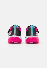 Skechers - FUSION FLASH - Trainers - black/turquoise/neon pink - 2