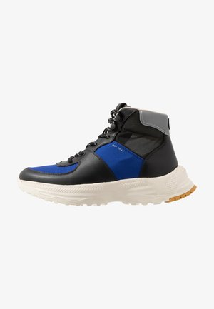 C250 TECH HIKER BOOT - Sneakers alte - black/sport blue