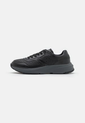 TOP LACE UP MONO - Trainers - black