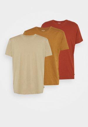 TEE 3 PACK - Jednoduché triko - multi