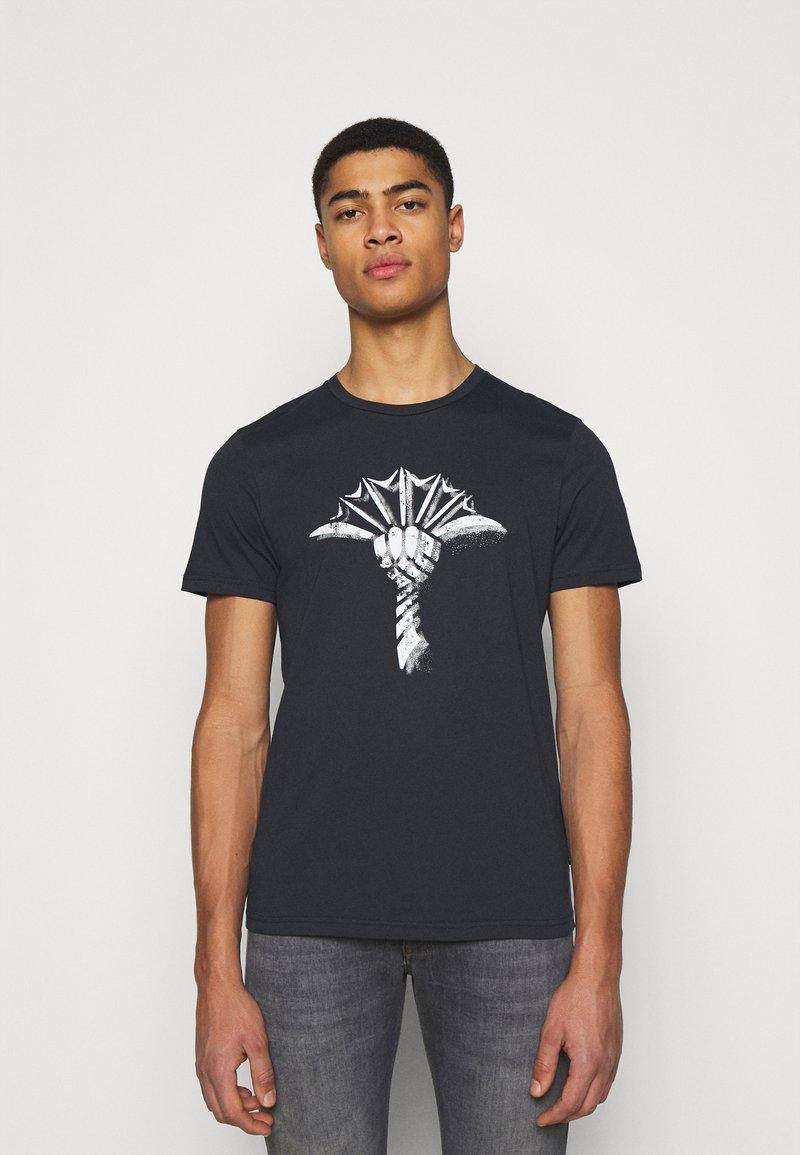 JOOP! - ALERIO - Print T-shirt - dark blue