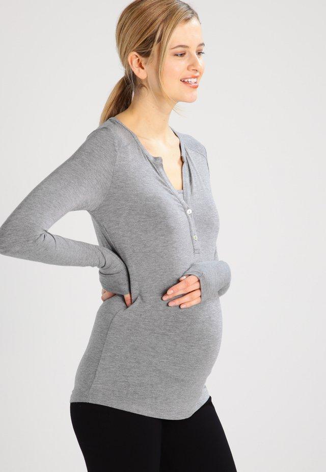 JULIA  - Pitkähihainen paita - gray