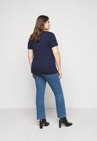 Anna Field Curvy - T-shirt basic - dark blue - 2