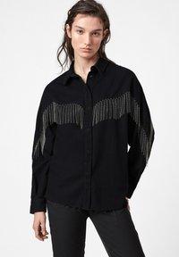 AllSaints - SANDRA JAINE  - Button-down blouse - black - 0