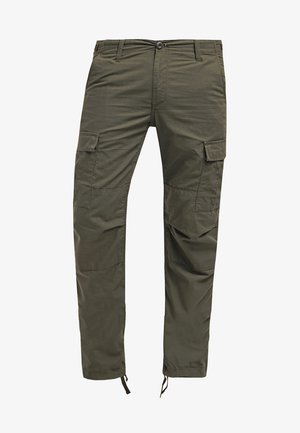 AVIATION PANT COLUMBIA - Cargo trousers - cypress rinsed