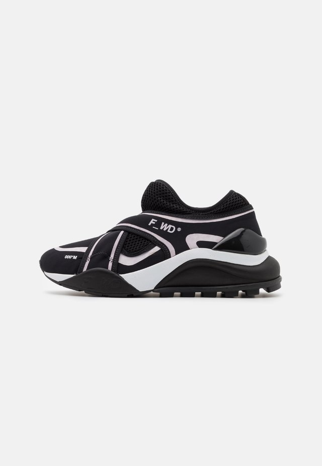 Trainers - black/light pink