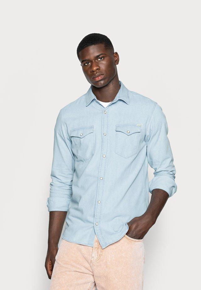 JJESHERIDAN  - Shirt - light blue denim