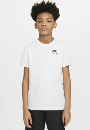 AIR - T-shirt imprimé - white/black
