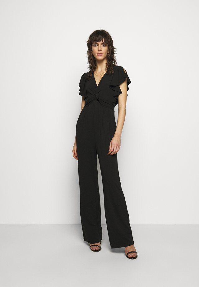 ELV FRONT TWIST  - Jumpsuit - black