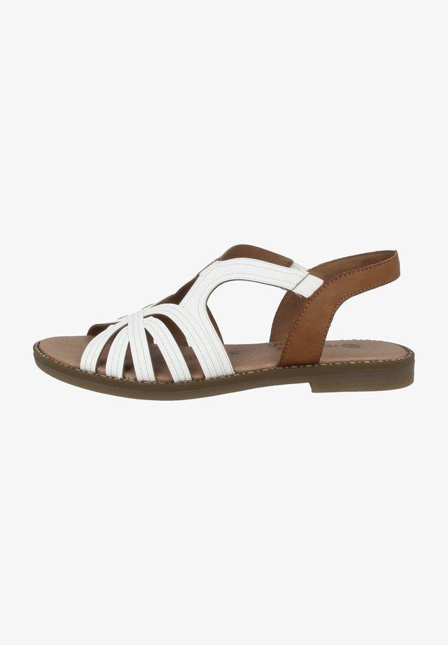 Sandalen - white-cayenne