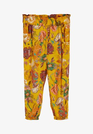 PULL-ON - Trousers - ochre