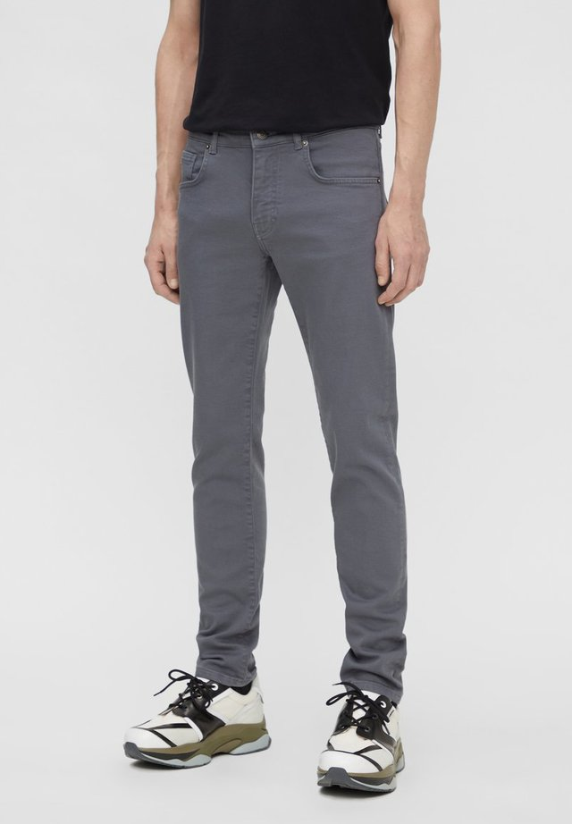 JAY SOLID STRETCH - Slim fit jeans - dark grey