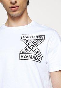 Raeburn - ETHOS GRAPHIC  - T-shirt con stampa - white - 6